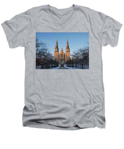 Saint Thomas Of Villanova Men's V-Neck T-Shirt