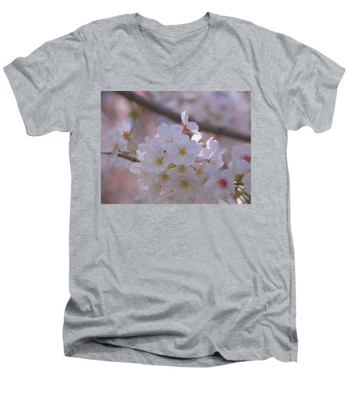 Sakura Men's V-Neck T-Shirt