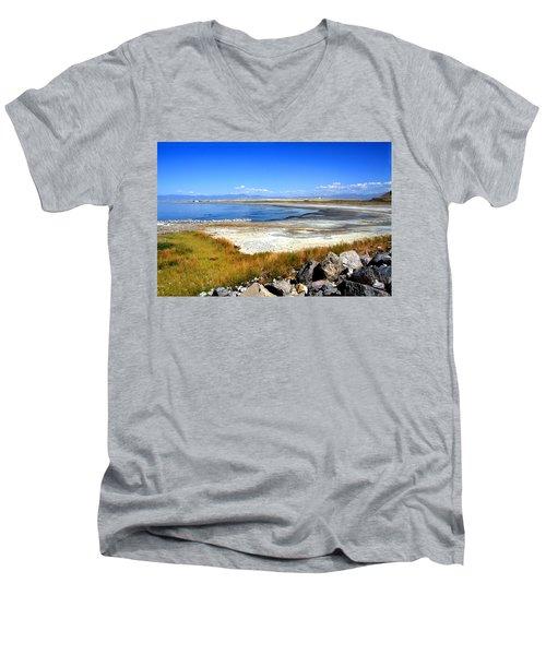 Salt Lake Utah Men's V-Neck T-Shirt