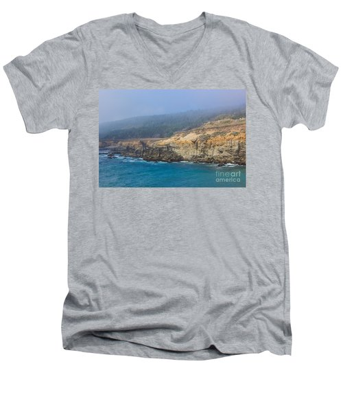 Salt Point State Park Coastline Men's V-Neck T-Shirt