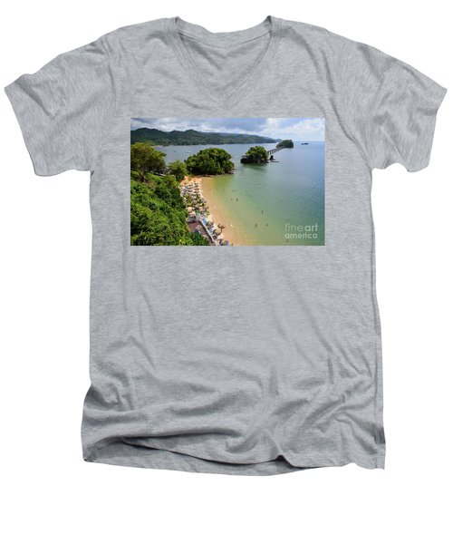 Samana In Dominican Republic Men's V-Neck T-Shirt