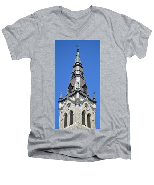 San Antonio Chuch 01 Men's V-Neck T-Shirt