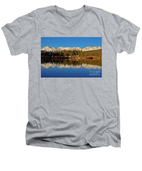 San Juan Reflections Men's V-Neck T-Shirt