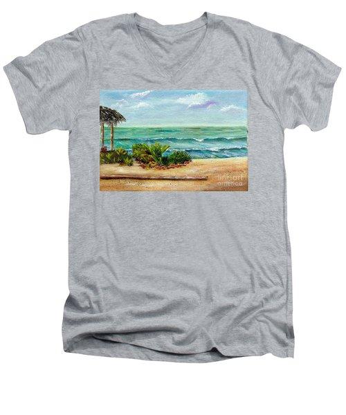 San Onofre Beach Men's V-Neck T-Shirt