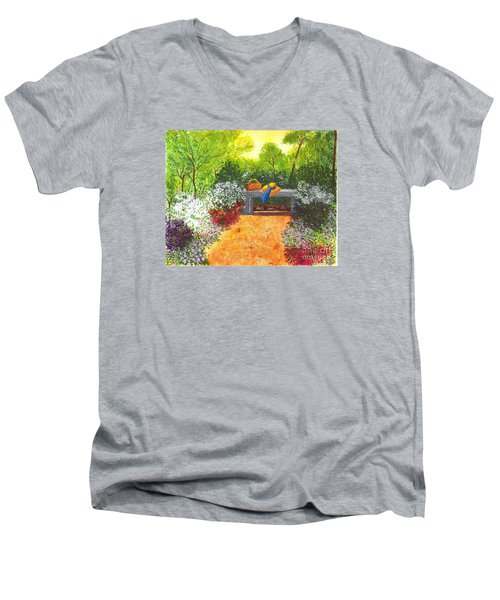 Sanctuary Men's V-Neck T-Shirt