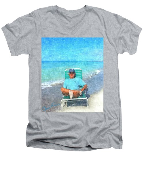 Sand Between Your Toes Men's V-Neck T-Shirt