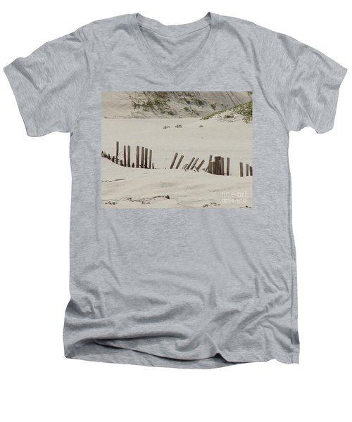 Sand Dunes At Gulf Shores Men's V-Neck T-Shirt