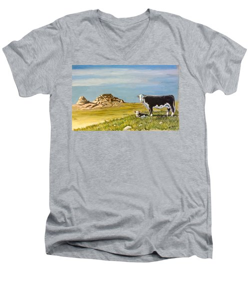 Sandhills Spring Men's V-Neck T-Shirt