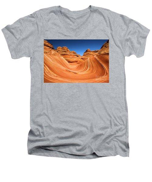 Sandstone Surf Men's V-Neck T-Shirt
