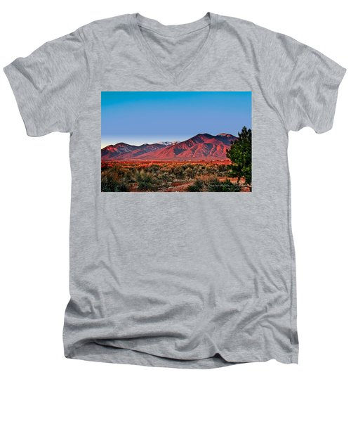 Sangre De Cristos Xxxi Men's V-Neck T-Shirt