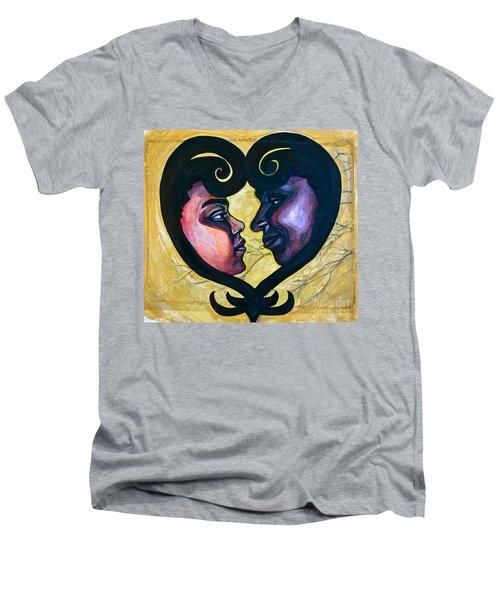 Sankofa Love Men's V-Neck T-Shirt