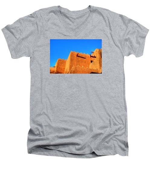 Santa Fe Adobe Men's V-Neck T-Shirt