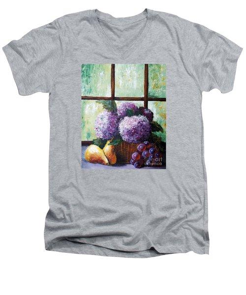 Scent Of Memories Men's V-Neck T-Shirt by Vesna Martinjak