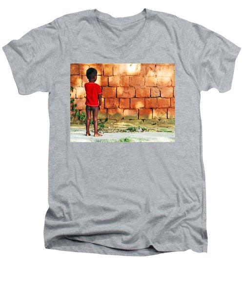Sceptical Men's V-Neck T-Shirt