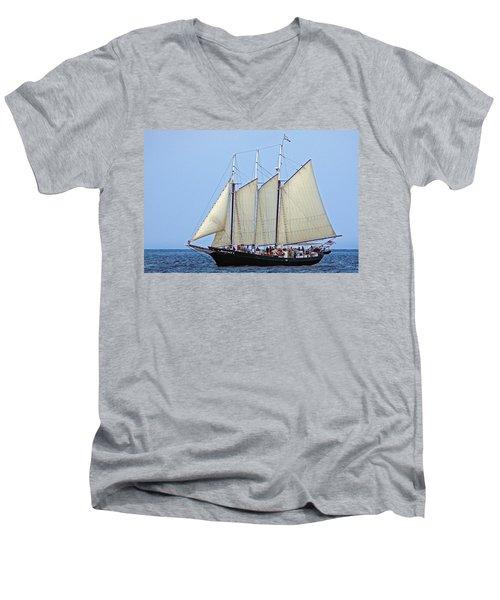Schooner Alliance Men's V-Neck T-Shirt