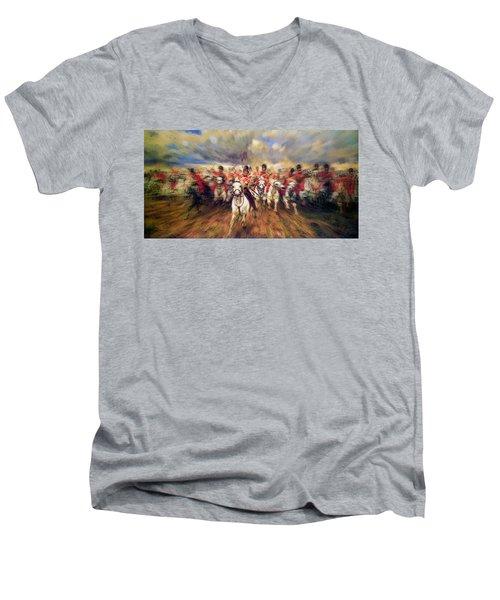 Scotland Forever During The Napoleonic Wars Men's V-Neck T-Shirt