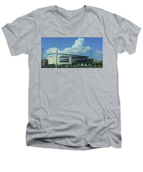 Scottrade Center Home Of The St Louis Blues Men's V-Neck T-Shirt