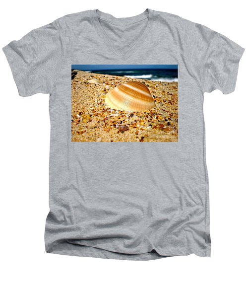 Sea Beyond The Shell Men's V-Neck T-Shirt