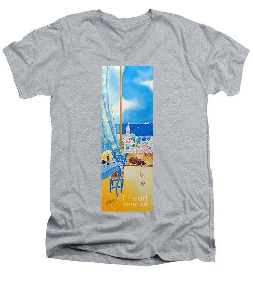 Sea Breeze Men's V-Neck T-Shirt