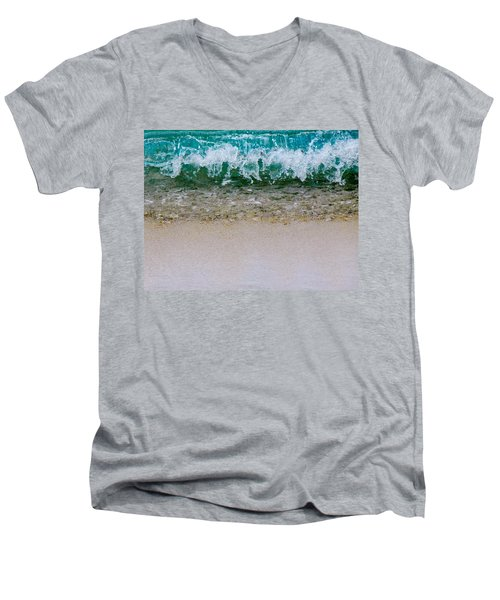 Sea Shore Colors Men's V-Neck T-Shirt