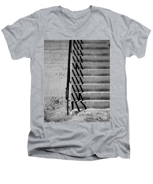 Sea Wall Steps Men's V-Neck T-Shirt
