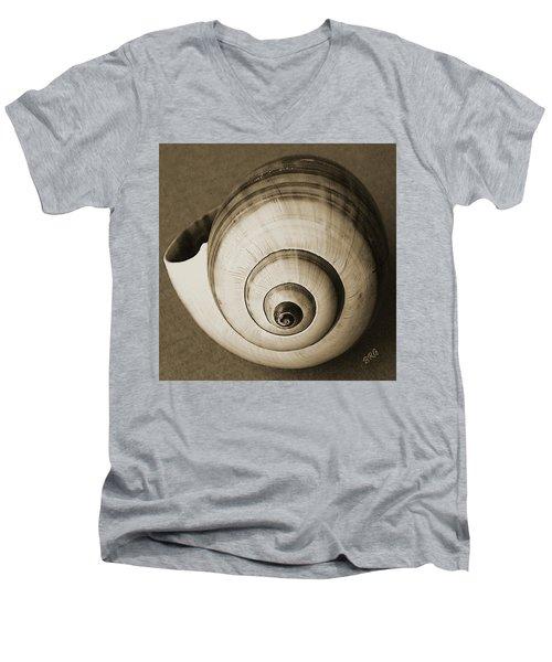 Seashells Spectacular No 25 Men's V-Neck T-Shirt
