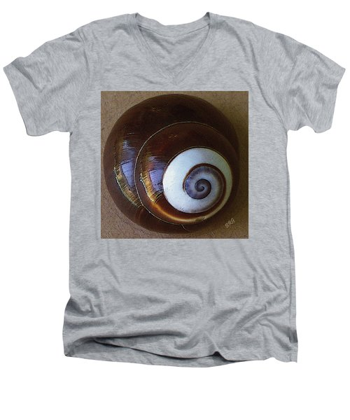 Seashells Spectacular No 26 Men's V-Neck T-Shirt by Ben and Raisa Gertsberg