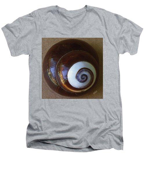 Seashells Spectacular No 26 Men's V-Neck T-Shirt