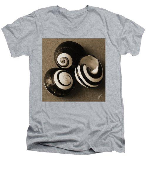 Seashells Spectacular No 27 Men's V-Neck T-Shirt
