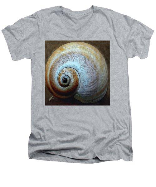Seashells Spectacular No 36 Men's V-Neck T-Shirt