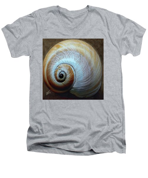 Seashells Spectacular No 36 Men's V-Neck T-Shirt