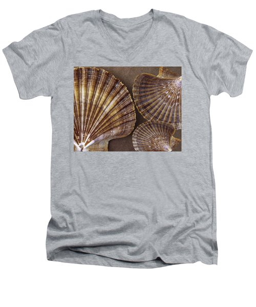 Seashells Spectacular No 7 Men's V-Neck T-Shirt