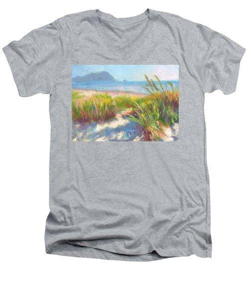 Seaside Afternoon Men's V-Neck T-Shirt
