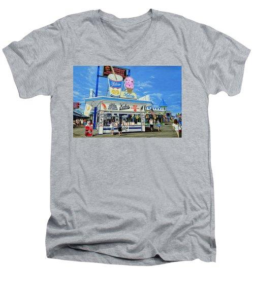 Seaside Memories Men's V-Neck T-Shirt