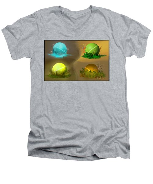 Seasons Men's V-Neck T-Shirt