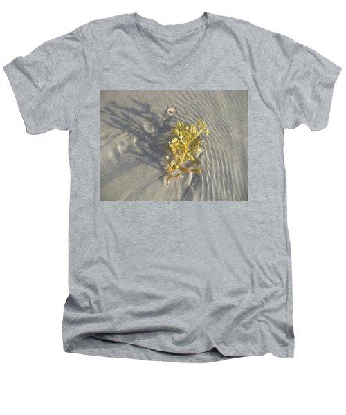 Seaweed Sand Men's V-Neck T-Shirt
