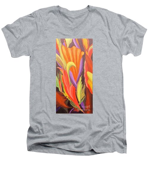 Secret Place Men's V-Neck T-Shirt by Glory Wood