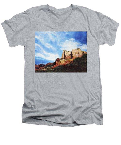 Sedona Mountains Men's V-Neck T-Shirt