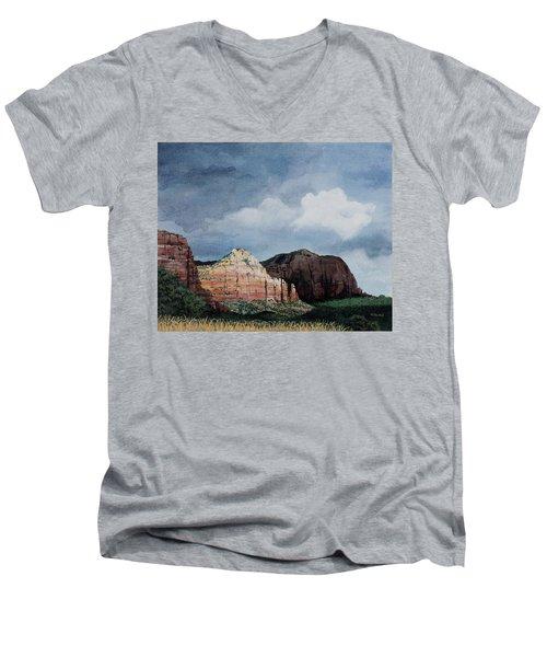 Sedona Storm Men's V-Neck T-Shirt