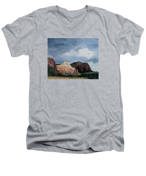 Sedona Storm Men's V-Neck T-Shirt