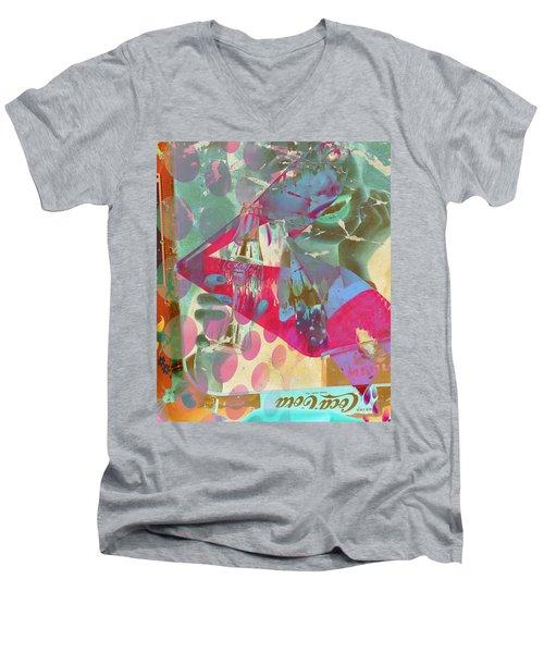 Seduction Of Soda  Men's V-Neck T-Shirt