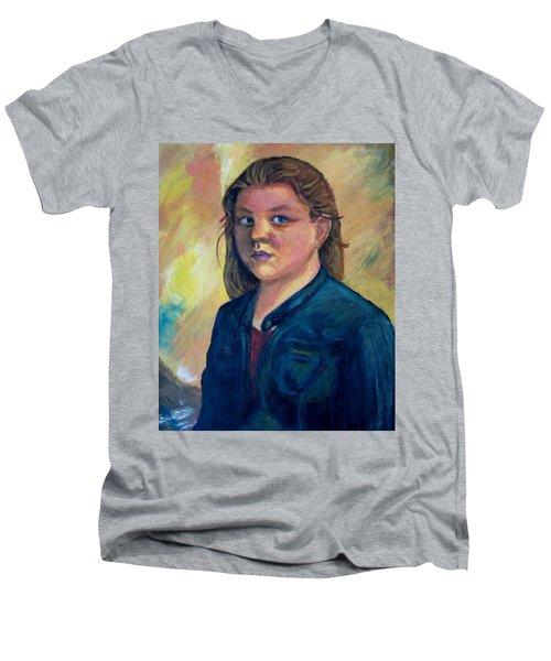 Self Portrait Men's V-Neck T-Shirt
