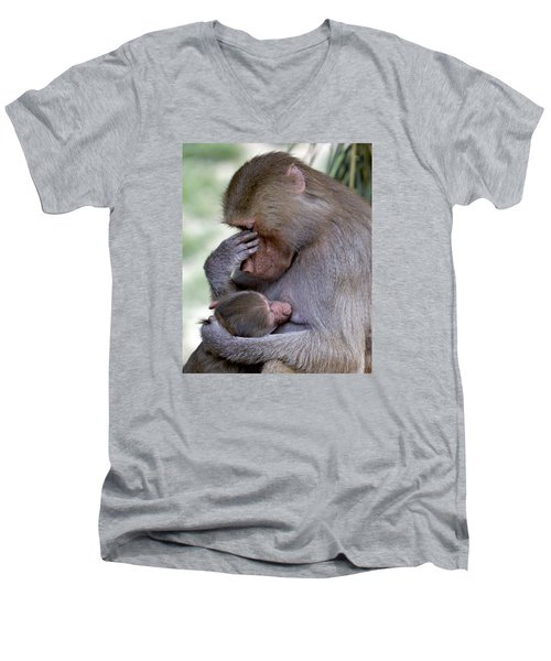 Selfless Love Men's V-Neck T-Shirt