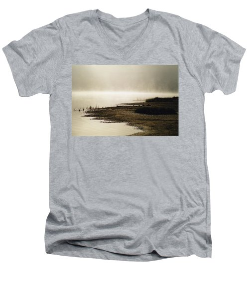 September Morning Men's V-Neck T-Shirt