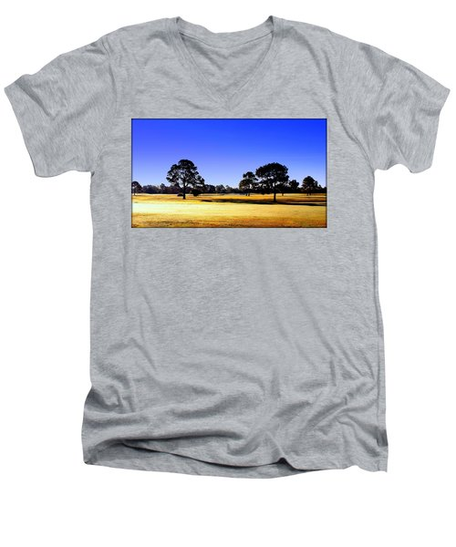 Men's V-Neck T-Shirt featuring the photograph Serendipity by Faith Williams