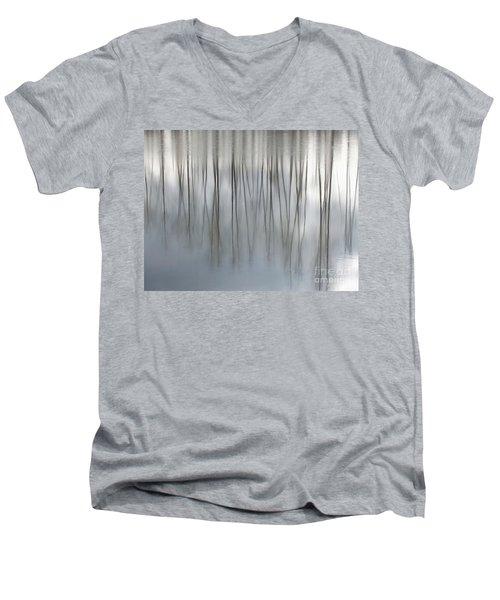 Serenity  Men's V-Neck T-Shirt by Michelle Twohig