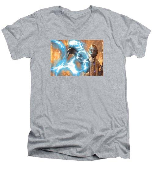 Serve Men's V-Neck T-Shirt