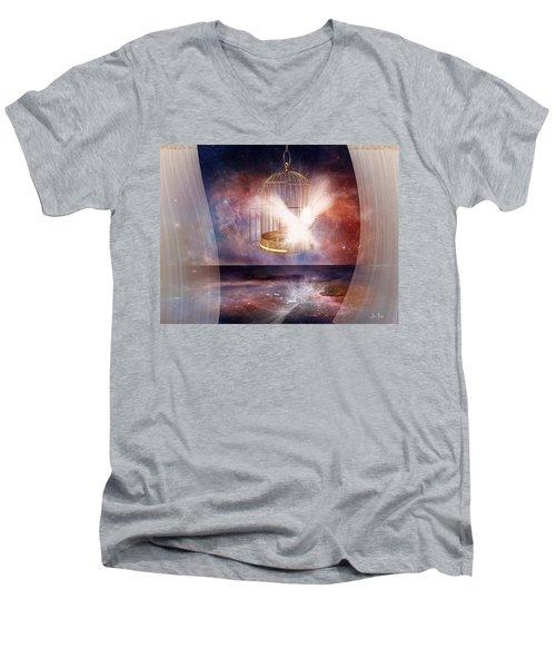 Set Free Men's V-Neck T-Shirt