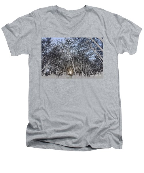 The Light At The End Of The Tunnel Men's V-Neck T-Shirt