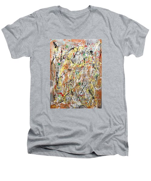 Pollock Men's V-Neck T-Shirt